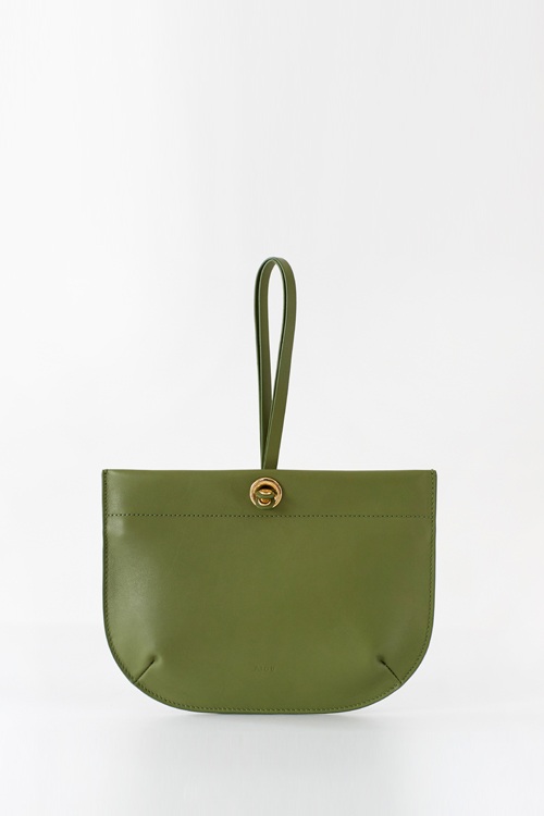 BEBE CLUTCH ALOEGREEN